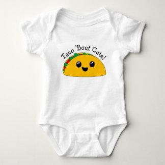 Taco 'Bout Cute Kawaii Baby Bodysuit