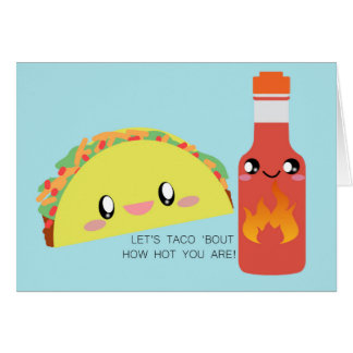 TACO 'bout HOT Greeting Card