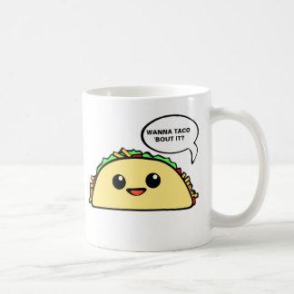 Taco Bout It Basic White Mug