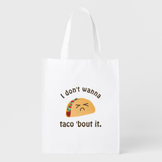 Taco 'Bout It Funny Word Play Food Pun Humor