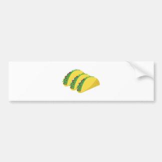 Taco Car Bumper Sticker