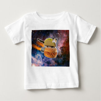 taco cat and rocket hamburger in the universe baby T-Shirt