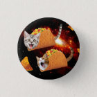 Taco Cats Space 3 Cm Round Badge
