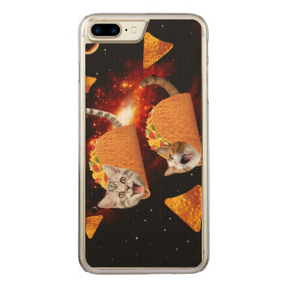 Taco Cats Space Carved iPhone 8 Plus/7 Plus Case