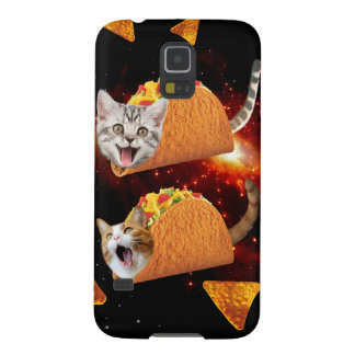 Taco Cats Space Galaxy S5 Covers