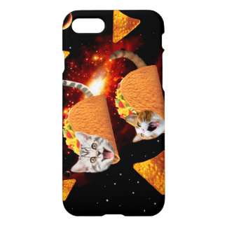 Taco Cats Space iPhone 8/7 Case