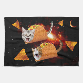 Taco Cats Space Kitchen Towel