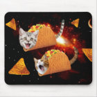 Taco Cats Space Mouse Mat