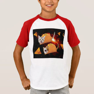 Taco Cats Space T-Shirt