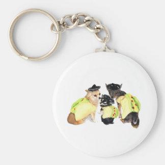 Taco Chihuahuas Key Ring