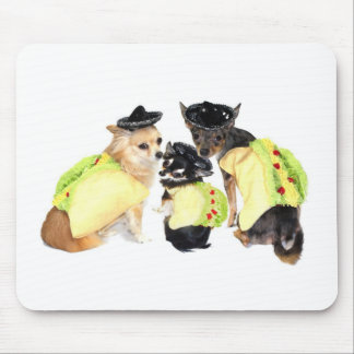 Taco Chihuahuas Mousepad
