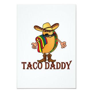 Taco Daddy Cinco de Mayo Party Invitations