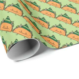 Taco Elf Wrapping Paper