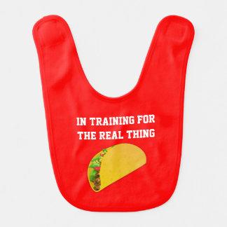 Taco In Training Baby Bib