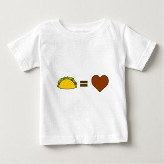 Taco=Love Baby T-Shirt