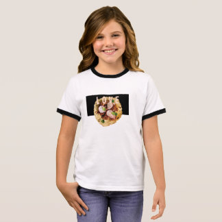 Taco love- Kids food! Ringer T-Shirt