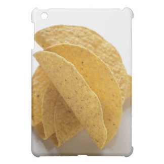 Taco shells on white background iPad mini cases