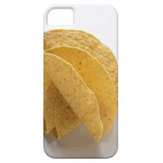 Taco shells on white background iPhone 5 cover