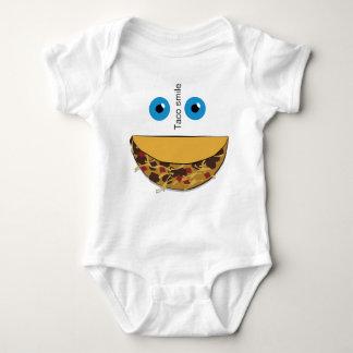 Taco spalls baby bodysuit