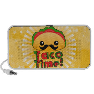 Taco Time Travelling Speakers