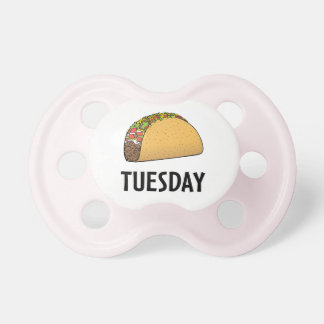 Taco Tuesday Pacifier