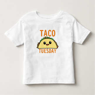 Taco Tuesday Toddler T-Shirt