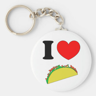 Taco Wear Key Ring