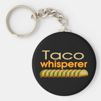 Taco Whisperer Key Ring
