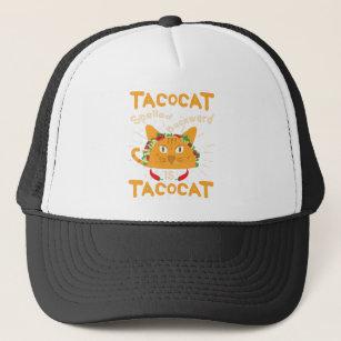e78210e1404 Tacocat Spelled Backwards Cinco de Mayo Taco Trucker Hat