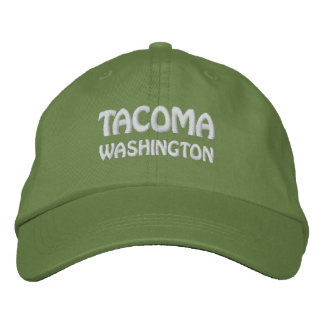TACOMA, WASHINGTON EMBROIDERED HAT