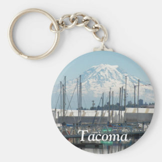 Tacoma, Washington Photo Key Ring