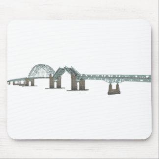 Tacony Palmyra Bridge: 3D Model: Mouse Mat