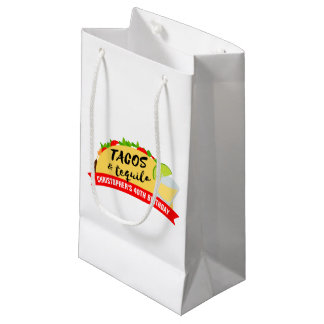 Tacos and Tequila Small Gift Bag