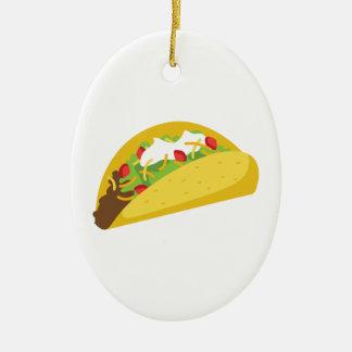 Tacos Christmas Ornament