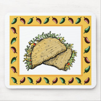 Tacos Mouse Pad