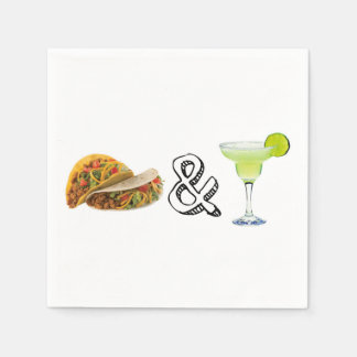 Tacos & Tequila Disposable Napkins