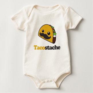 Tacostache Baby Bodysuit