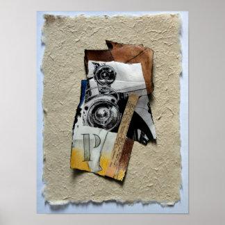 Tacot 1 Banger Collage Greeting Card Poster