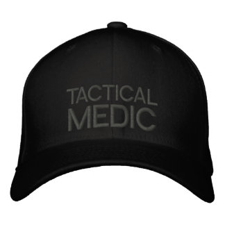 Tactical Medic Mid Profile Flexfit Cap Embroidered Cap