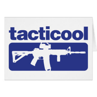 Tacticool - Blue Card