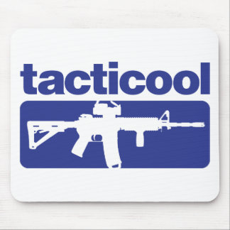Tacticool - Blue Mouse Pad