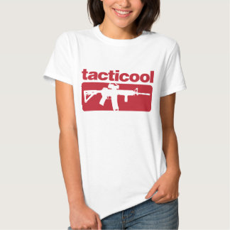 Tacticool - Red Tee Shirt