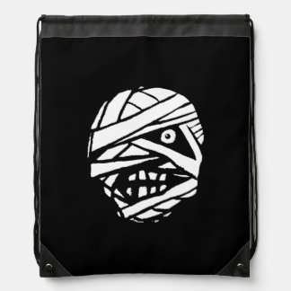 Tad Bandha Mummy Monochrome Drawstring Backpack