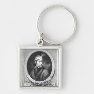 Tadeusz Kosciuszko , engraved by Christiaan Key Ring