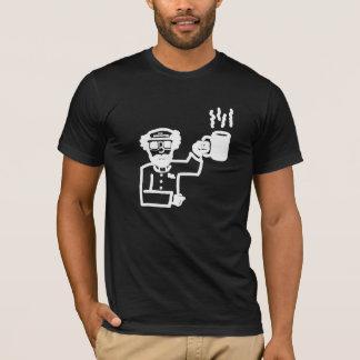 #TADOF - Pastor P. - White Out-Line T-Shirt