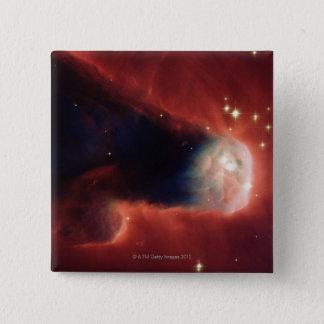 Tadpole Galaxy 15 Cm Square Badge