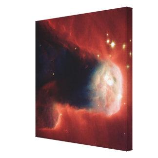 Tadpole Galaxy Stretched Canvas Print