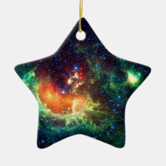 Tadpole Nebula in the Auriga Constellation Ceramic Star Decoration