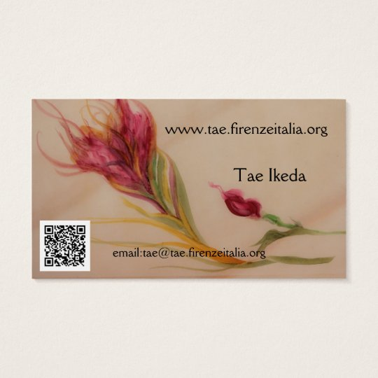 Tae Ikeda Business Card