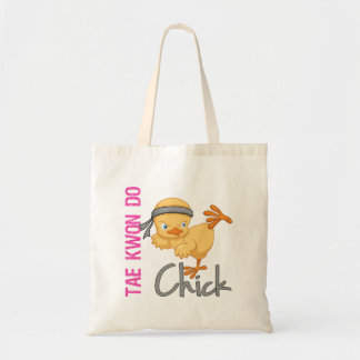 Tae Kwon Do Chick Budget Tote Bag
